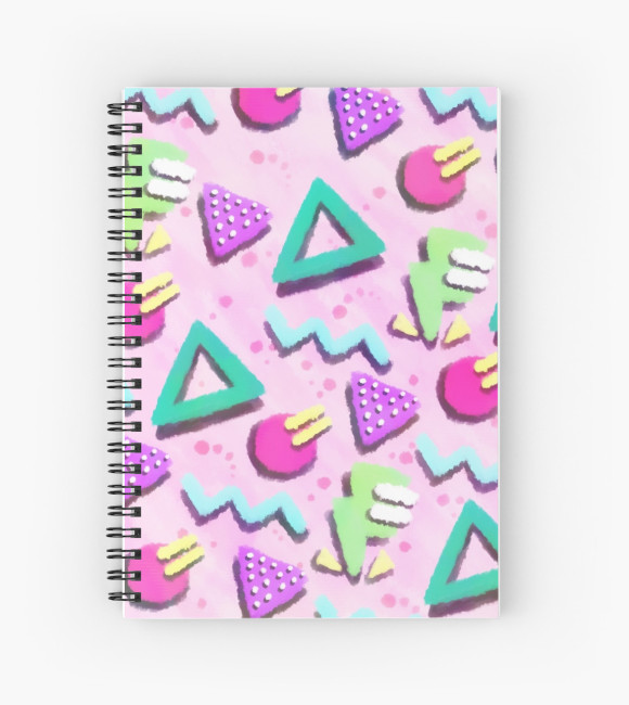 pastelpink80spattern_journal