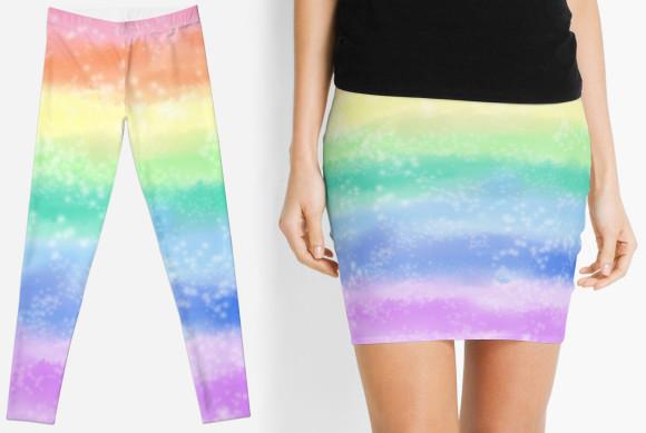 pastelrainbowstripe_leggingsskirt