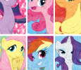 Pony Bookmarks (My Little Pony: Friendship is Magic) | July 2012